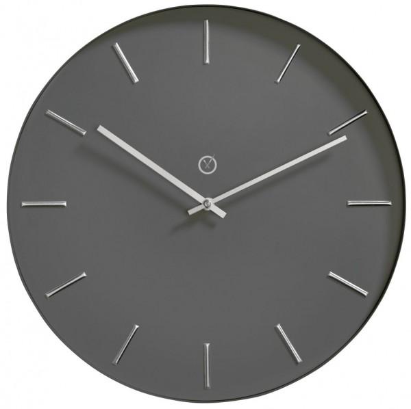 Sompex Uhren - Wanduhr Helsinki antrazit