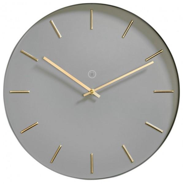 Sompex Clocks - Wanduhr Helsinki grau