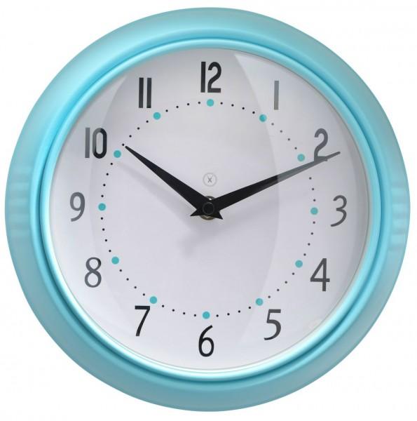 Sompex Clocks - Wanduhr Milano blau