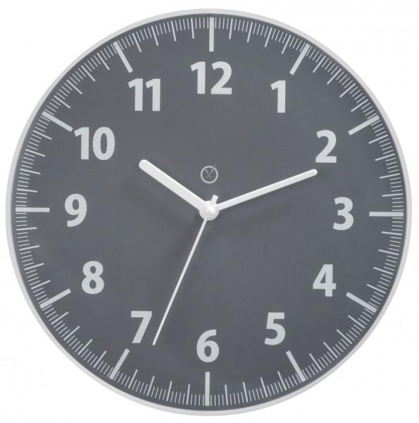 Sompex Clocks - Wanduhr TORONTO grau