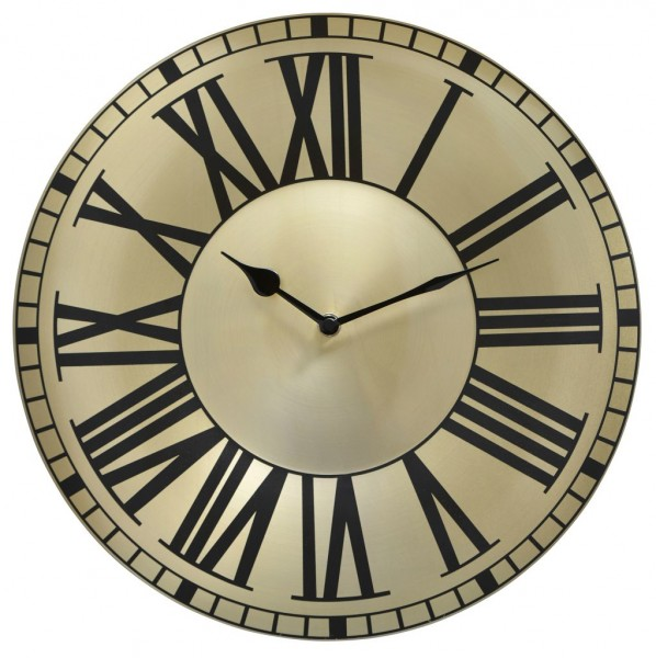 Sompex Clocks - Wanduhr Bordeaux gold