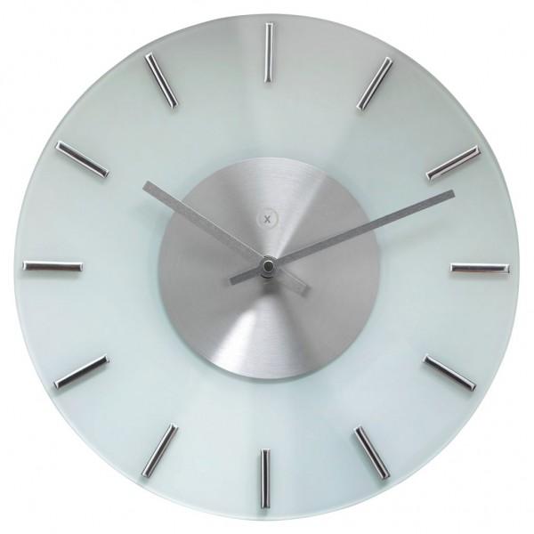 Sompex Clocks - Wanduhr Lyon weiss