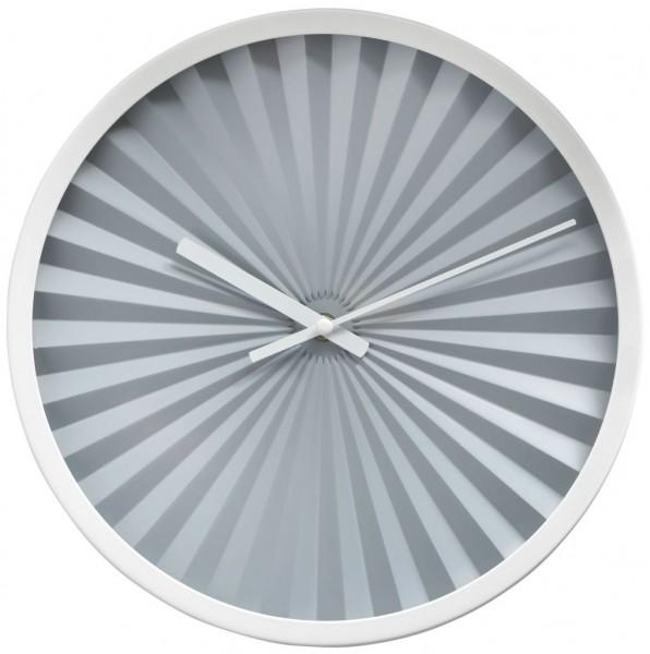 Sompex Clocks - Wanduhr Florence grau