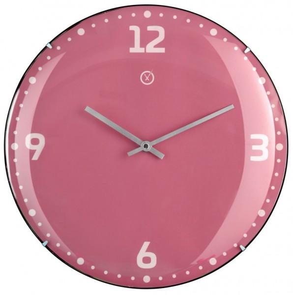 Sompex Wanduhr RIO pink