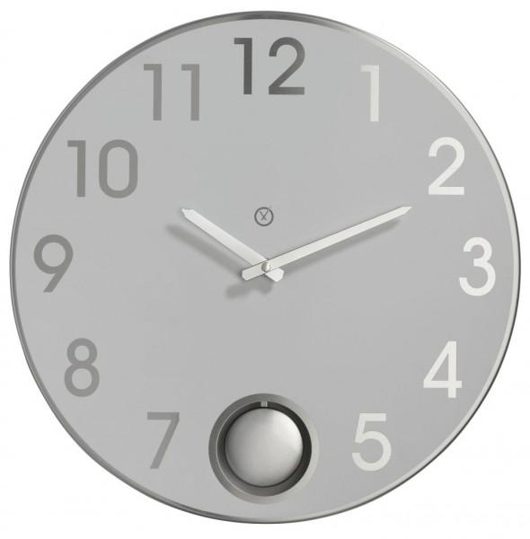 Sompex Clocks - Wanduhr Brussels weiss