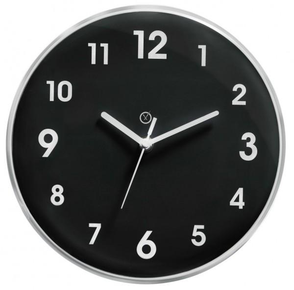 Sompex Clocks - Wanduhr Ottawa schwarz