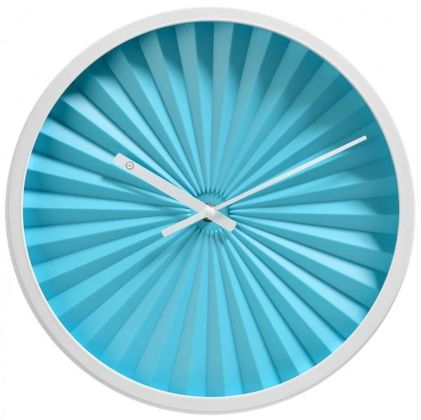 Sompex Uhren - Wanduhr Florence blau