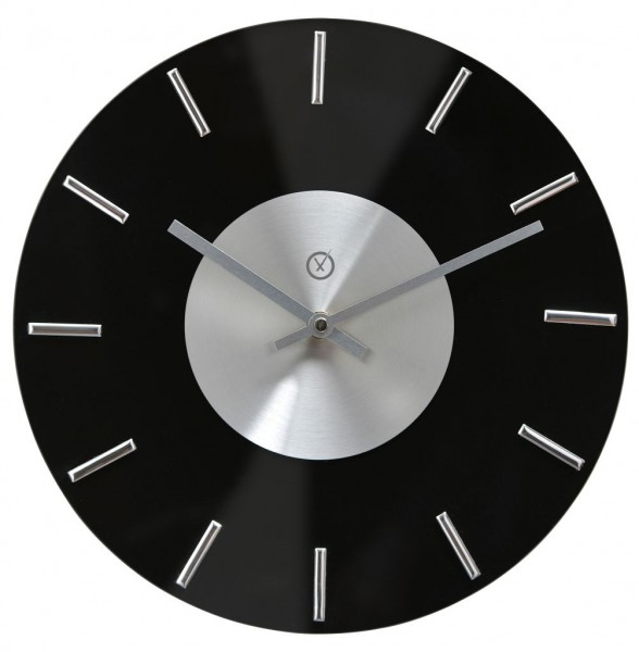 Sompex Clocks - Wanduhr Lyon schwarz