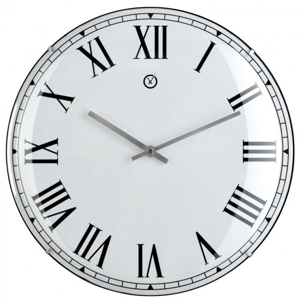Sompex Clocks - Wanduhr Lima weiss