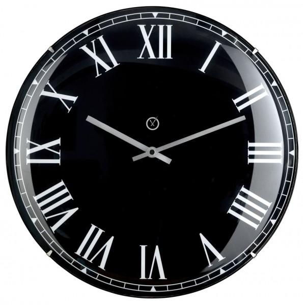 Sompex Clocks - Wanduhr Lima schwarz