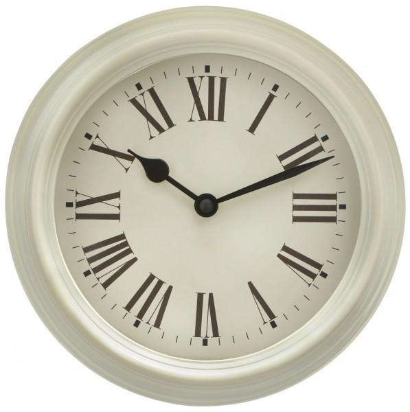 Sompex Clocks - Wanduhr Roma weiss