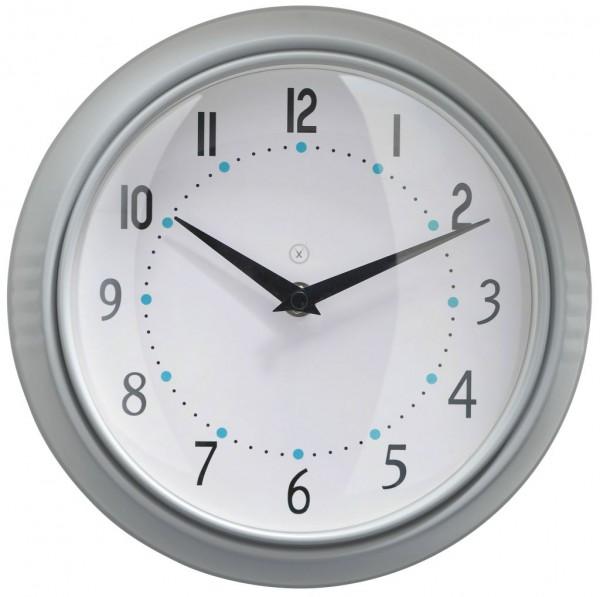 Sompex Uhren - Wanduhr Milano grau