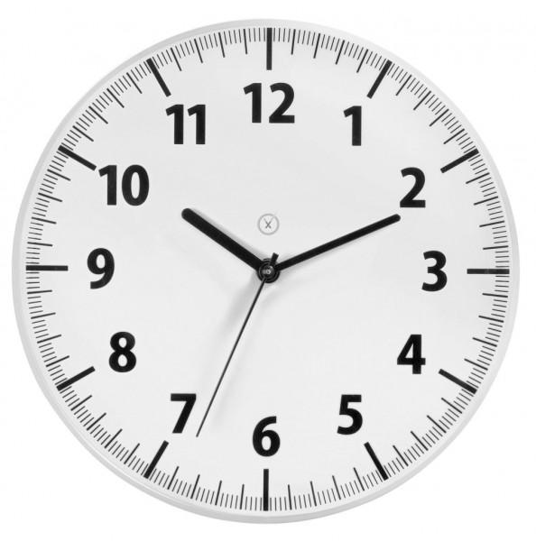 Sompex Clocks - Wanduhr Toronto weiss