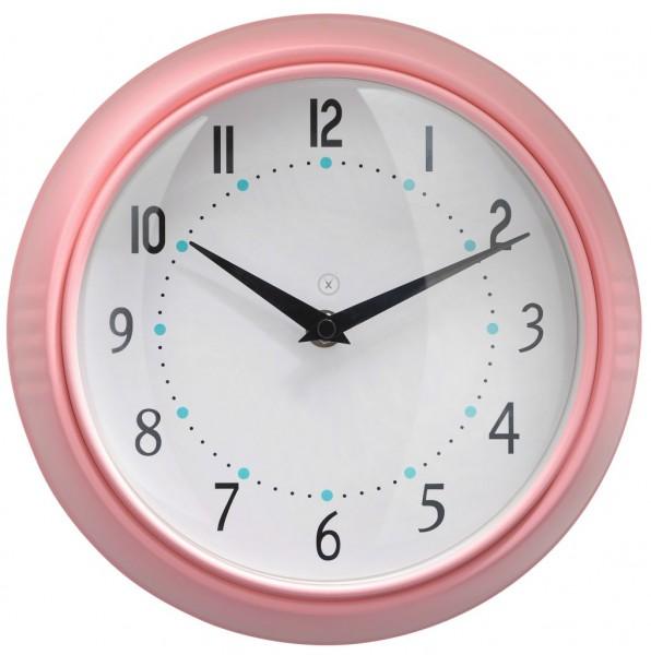 Sompex Clocks - Wanduhr Milano pink