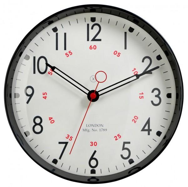 Sompex Clocks - Wanduhr Dublin schwarz