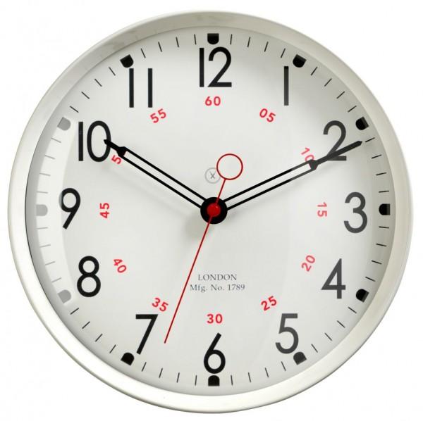 Sompex Clocks - Wanduhr Dublin weiss