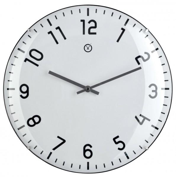 Sompex Clocks - Wanduhr Quito weiss