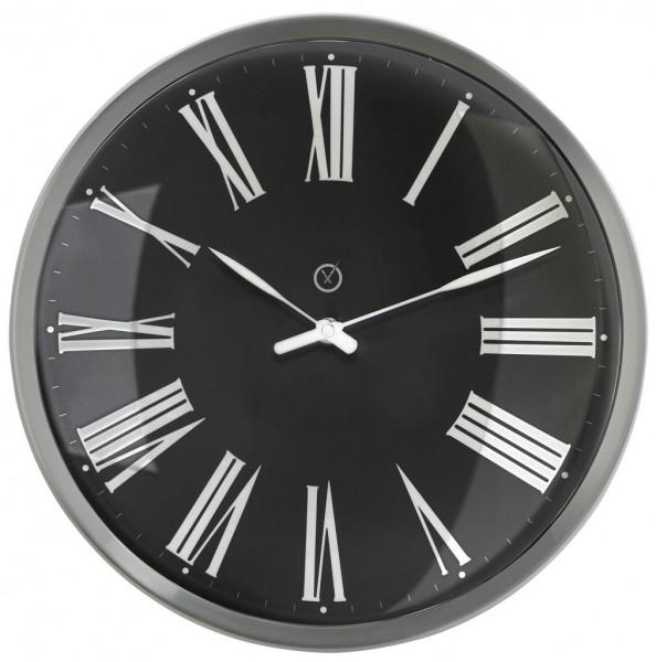 Sompex Clocks - Wanduhr Amsterdam schwarz