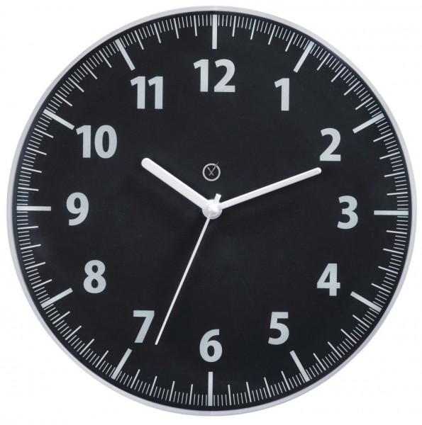 Sompex Clocks - Wanduhr Toronto schwarz