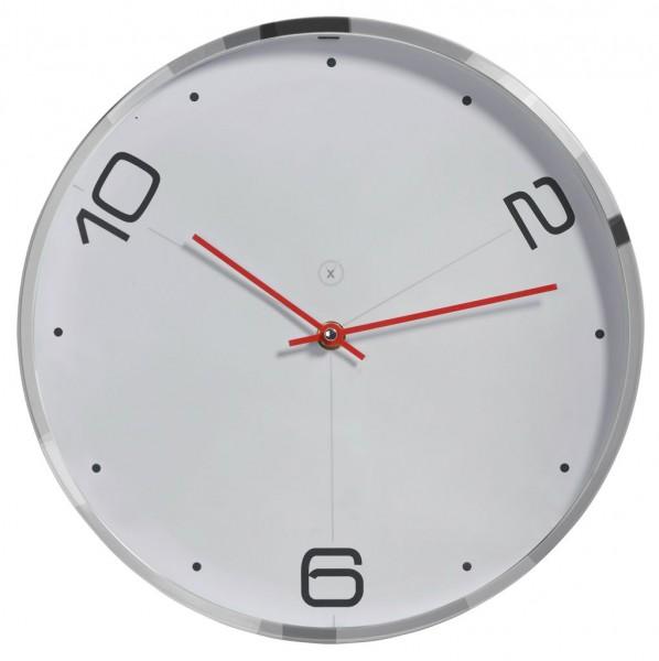 Sompex Uhren - Wanduhr Miami weiss